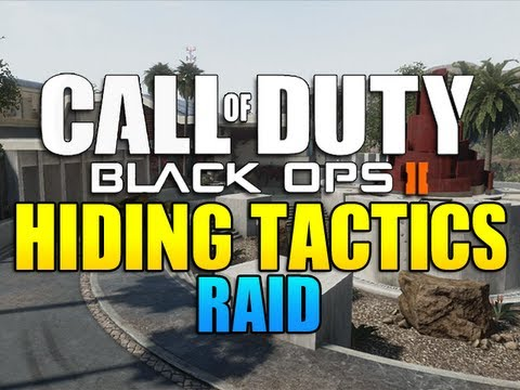 Black Ops 2 - Hiding Tactics on Raid