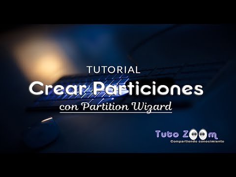 Tutorial Crear Partición con Partition Wizard