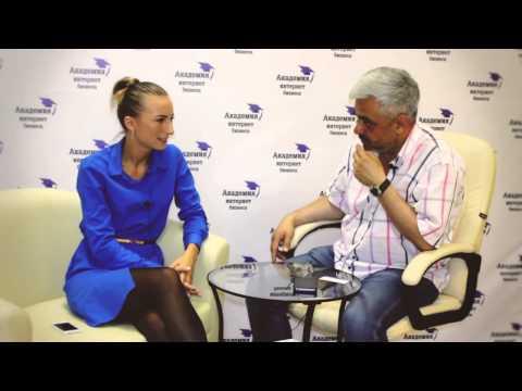 Евгения Белова (Академия Интернет Бизнеса) и Владимир Маринович  - Истории успеха с БШ ВВЕРХ:
