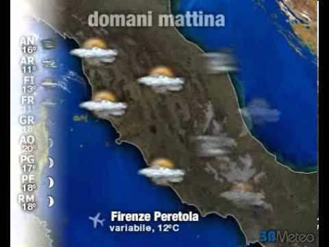 Meteo ITALIA del 21/10/2012