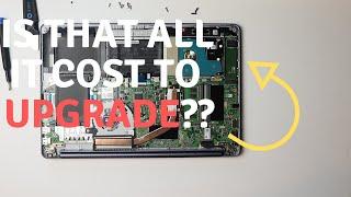 Asus Vivobook upgrade -  Adata 256GB M.2 SSD Install