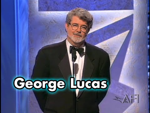 George Lucas Salutes Harrison Ford at the AFI Life Achievement Award