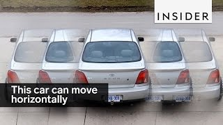 This car can move horizontally