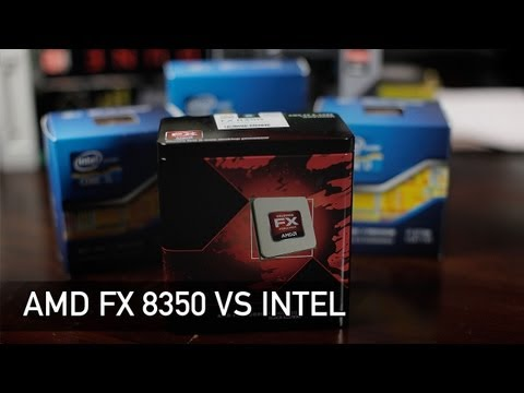 AMD FX 8350 vs Intel 3570K vs 3770K vs 3820 - Gaming and XSplit Streaming Benchmarks