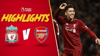 Firmino scores 39no look39 goal | Liverpool 5-1 Arsenal | Highlights