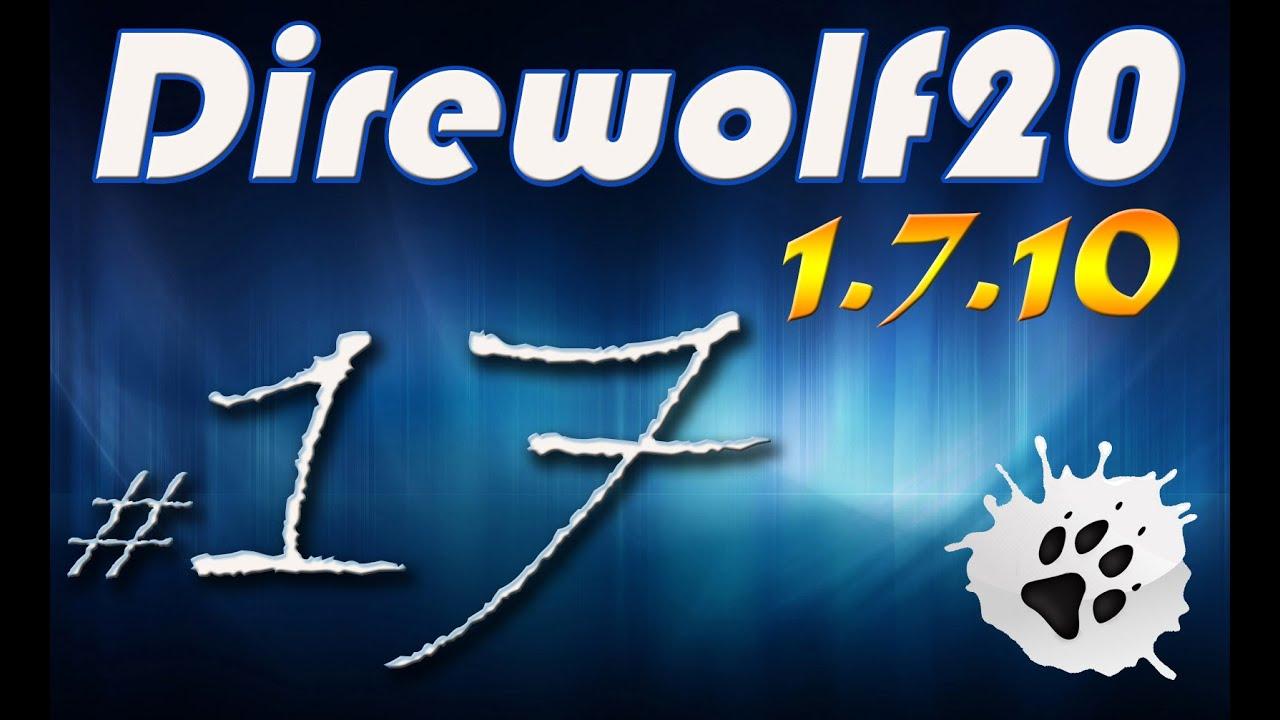 direwolf20 minecraft how to make eu