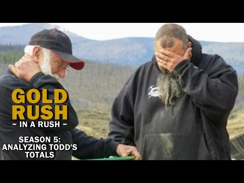 Gold Rush | Season 5 Reality Check | Todd's Year-End Total - Gold Rush in a Rush