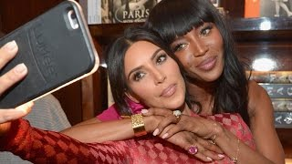 Inside Kim Kardashian and Naomi Campbell