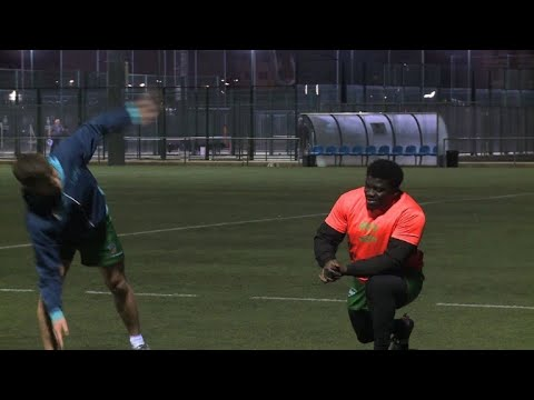 Spanish rugby club offers hope to Cameroon migrant
