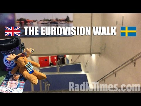 Backstage Eurovision 2016: The walk to the stage in Stockholm
