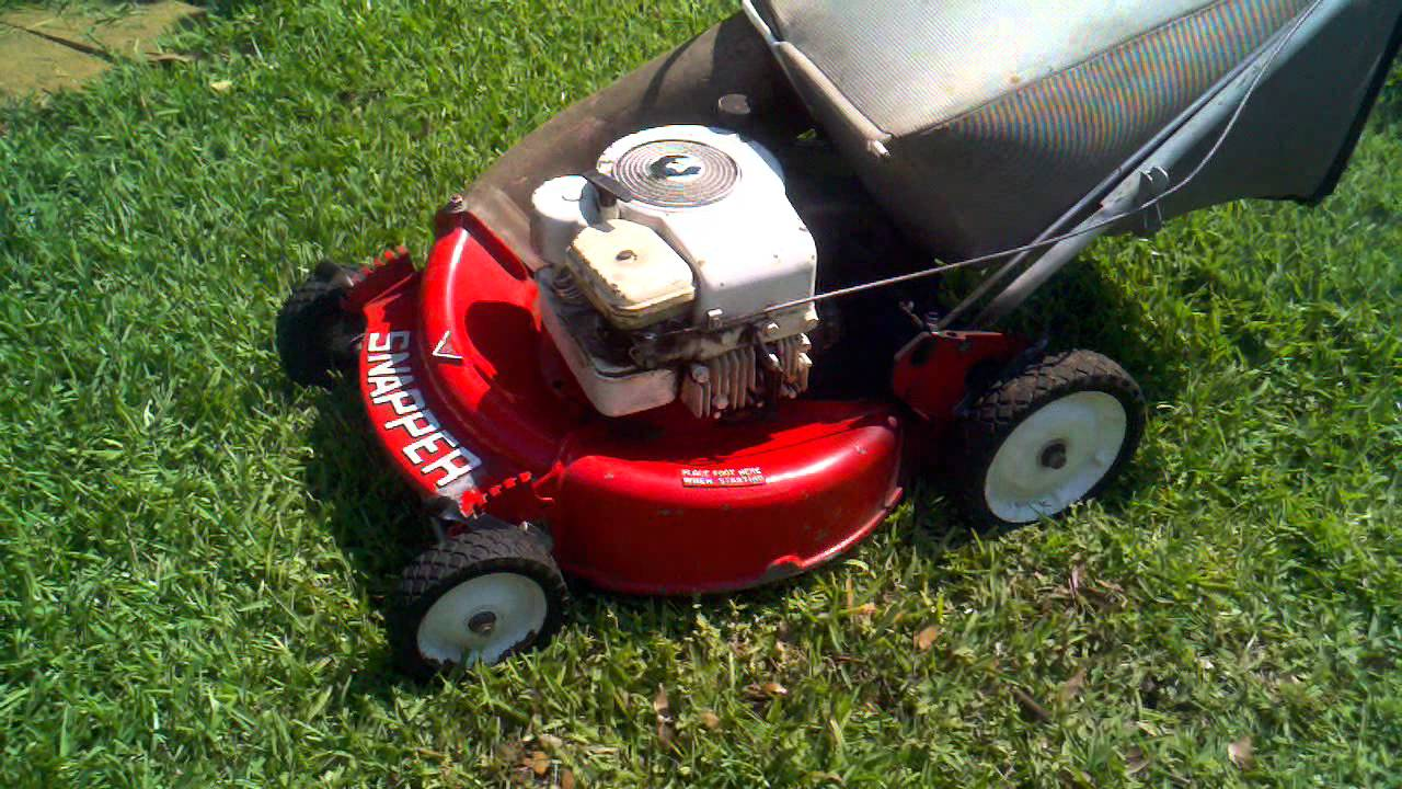 Snapper Mower Any Way You Cut It Its A Snap With A