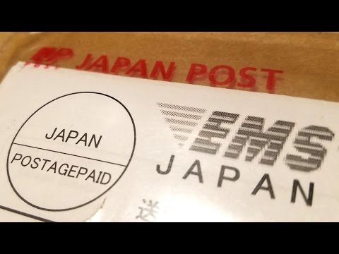 JAPAN POST UNBOXING!!! What could it be? Classic Game Room