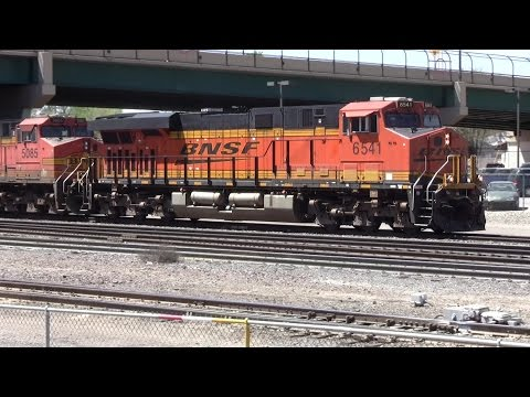 Belen Junction, BNSF Rail Yard, and New Mexico Railrunner