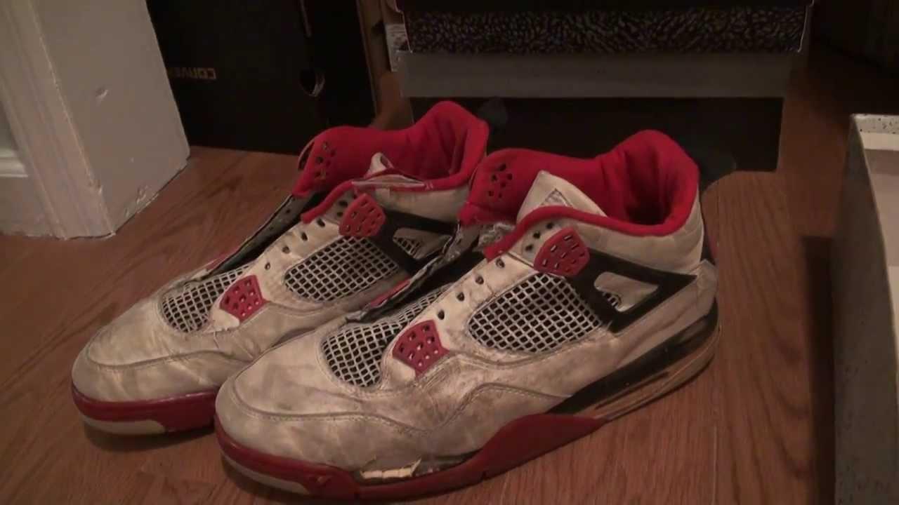 Og Fire Red 4s 1989 Jordan Fire red 4 OG