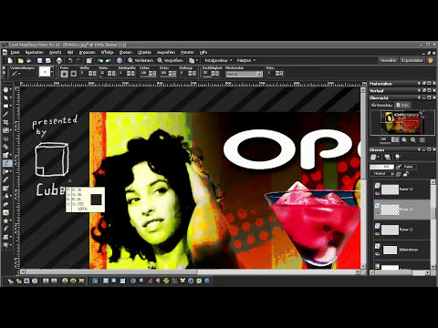 Corel® PaintShop Photo™ Pro X3 - Speed Demo 2