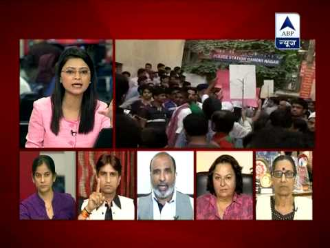 Abp News Debate: 5-year Old Girl Raped; What Is Delhi Police Doing ? video