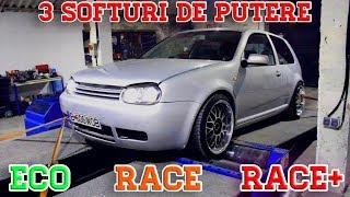 AM PUS 3 SOFTURI DE PUTERE PE GOLF! ECO / RACE / RACE+