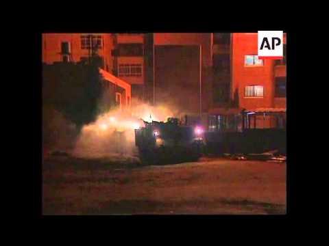 Israeli troops raid Palestinian broadcaster