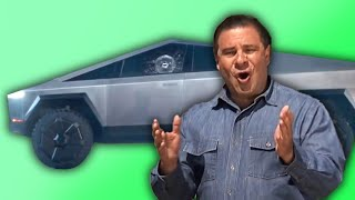 Phil Swift tests Elon Musk's Cybertruck