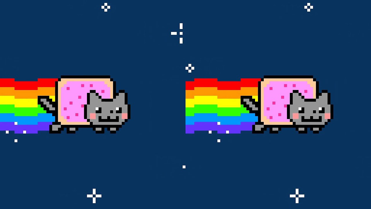 Animated Nyan Cat Background Nyan Cat Background