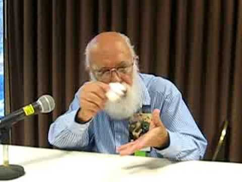 Magician James Randi shows us a trick
