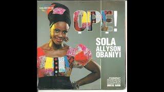 Sola Allyson - My voice I raise