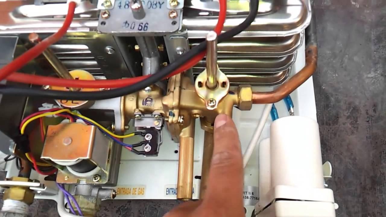 Boiler De Paso Bosch Youtube