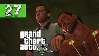 Grand Theft Auto 5 Walkthrough Part 27 - Teamwork For a Bad Cause - Let's Play Series / Playthrough