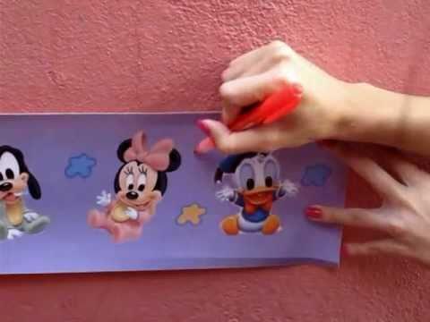 Faixa papel de parede e adesivo infantil for Papel pintado infantil barato