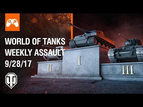 Console: World of Tanks Weekly Assault #22