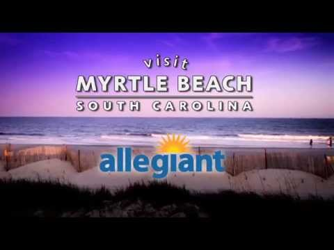 Fly Non-Stop on Allegiant to Myrtle Beach and Save