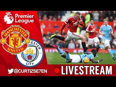 Manchester United vs Manchester City LIVE STREAM WATCH-ALONG