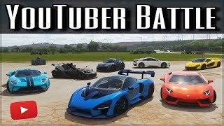The Ultimate YouTuber Dragrace | Forza Horizon 4 | ft. MrBeast, Shmee150, TheStradman & more!!