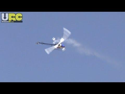 Nitro RC helicopter aerobatics @ SCCMAS
