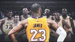 Lakers Schedule Breakdown for the 2018-19 season