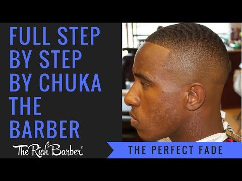 HAIRCUT TUTORIAL : The Perfect Fade