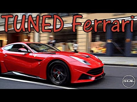 Novitec Rosso Ferrari: CRAZY Ferrari F12 Hits London!
