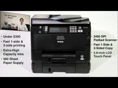 Epson WorkForce Pro 4540 Test Report