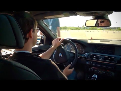 2011 BMW 5 Series 550i V8 Closed Circuit Test Drive RAW HD