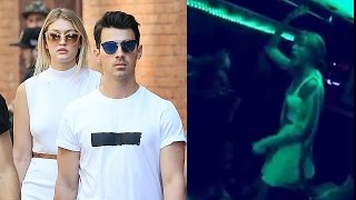 Taylor Swift Raps in Party Bus for Joe Jonas Bday!
