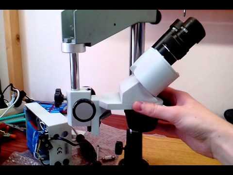 Микроскоп своими руками из фотоувеличителя