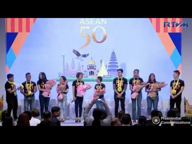 Pop stars give preview of concert to mark Asean's 50th year