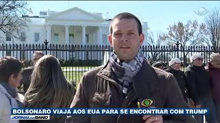 Bolsonaro vai encontrar Trump nos EUA