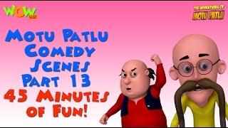 Motu Patlu comedy scenes Part 13 - Motu Patlu Compilation As seen on Nickelodeon