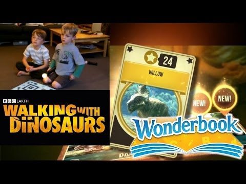 PS3 Wonderbook's BBC Walking With Dinosaurs - Let's Play Chapter 1a