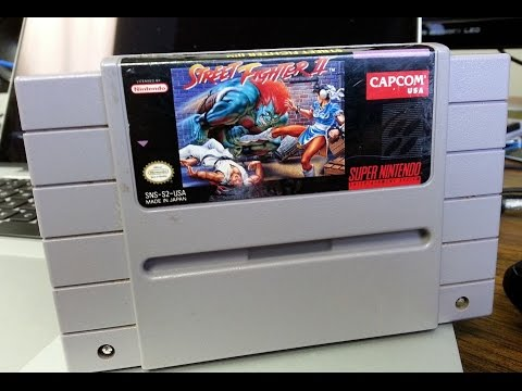 Classic Game Room - STREET FIGHTER 2 review for SNES