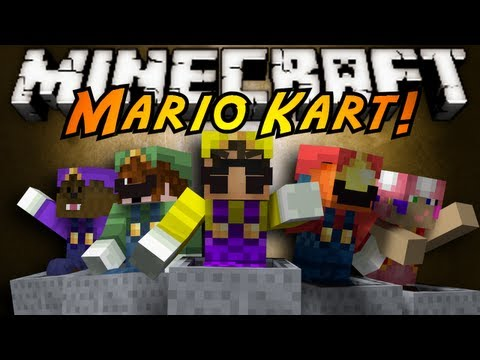Minecraft Mini-Game : MARIO KART!
