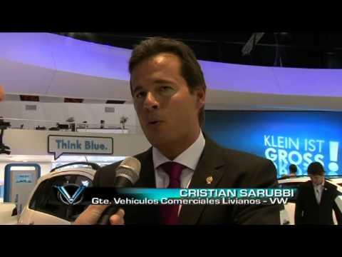 Volkswagen presenta la Amarok 2014 en el Salon de Buenos Aires 2013