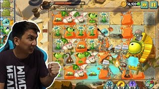 Final Boss di Piramid - Ancient Egypt Day 35 : Plant VS Zombie 2 Indonesia #3