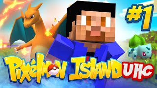 PIXELMON ISLAND UHC #1 w/ The Pack & Friends